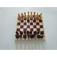 Шахматы ученические в комплекте с доской (шахматы + доска)