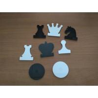 Фигура шахматная /шашечная